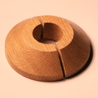 Solid Oak Pipe Cover