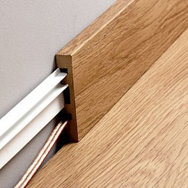 Quickstep Parquet Skirting for Largo floors 14x100x2400mm