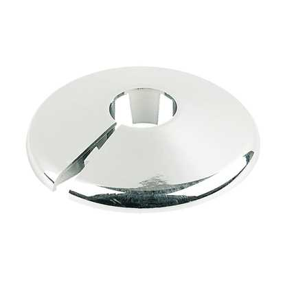 Unika Chrome Style Pipe Covers