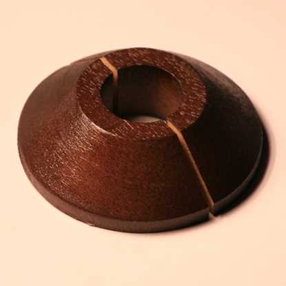 Solid Walnut Pipe Cover