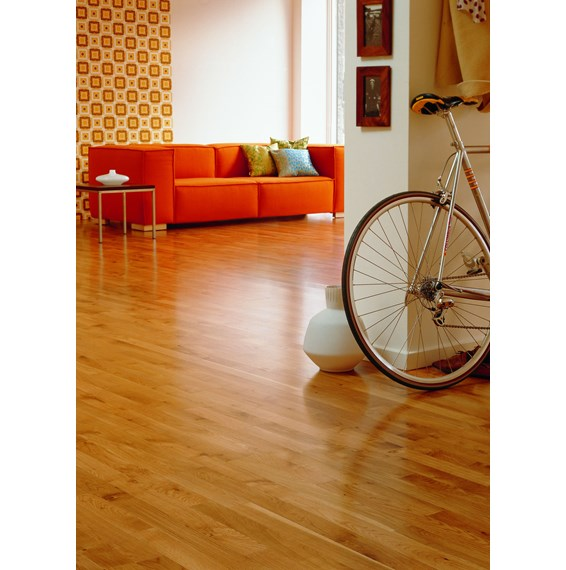 Junckers 14mm Oak Classic Solid Wood Flooring