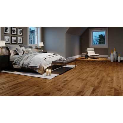 Natura Solid European Oak Bronze Antique Wood Flooring