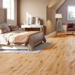 Solid Oak Matt Lacquered Wood Flooring