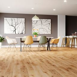 Solid Oak Oiled Wood Flooring