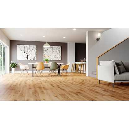 Natura Solid Oak Oiled Wood Flooring