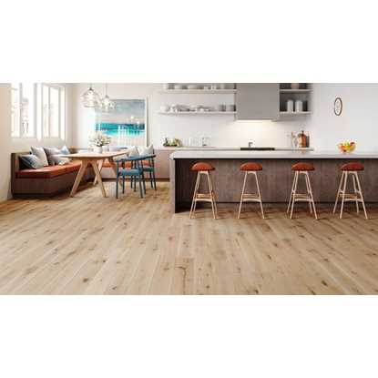 Natura European Solid Oak White Washed
