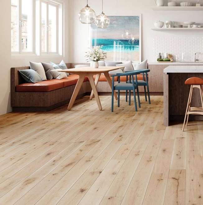 Wholesale Hardwood Flooring Edmonton: Natura Solid European Oak White Washed Wood Flooring