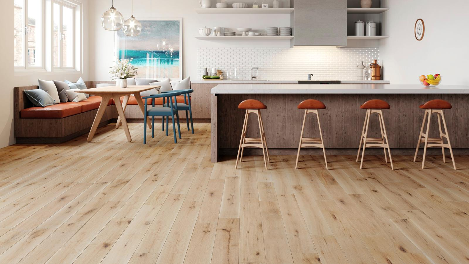 natura 150mm european solid oak white washed wood flooring