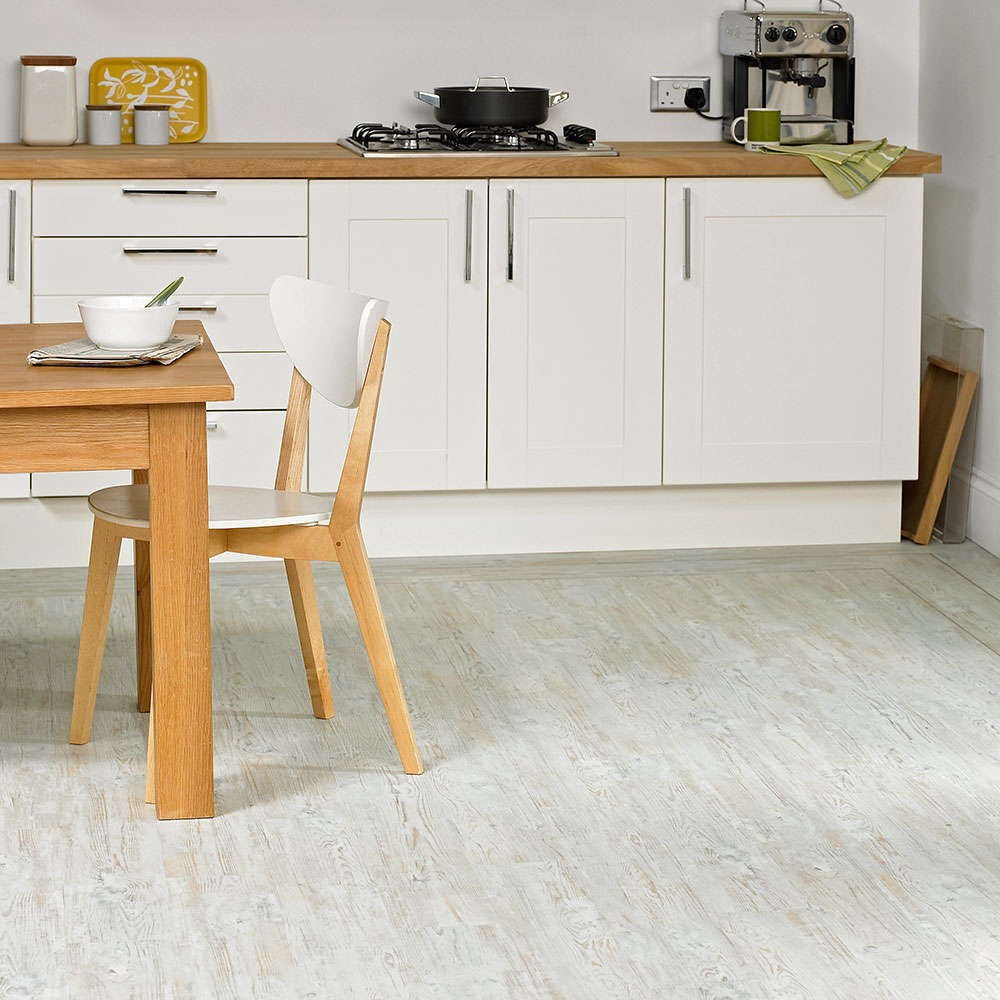 Polyflor Camaro White Limed Oak 2229 Vinyl Flooring