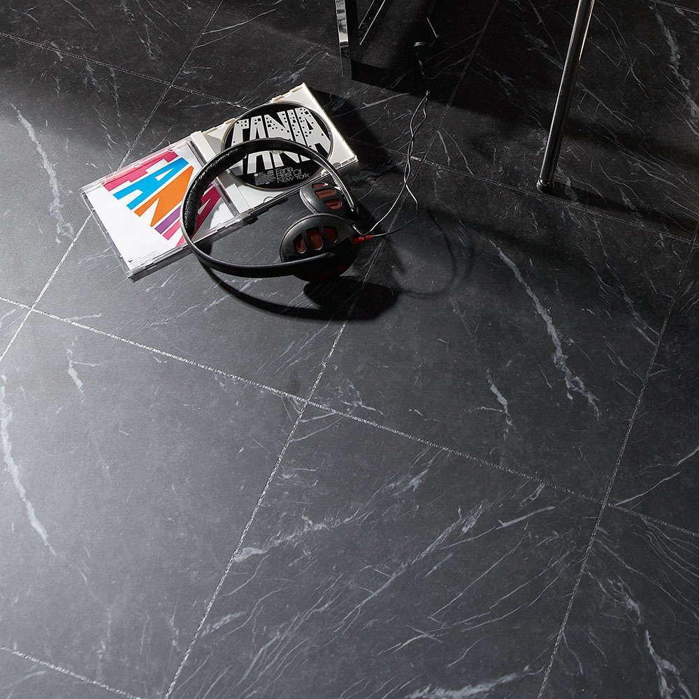 Polyflor Camaro Black Marble 2317 Vinyl Flooring
