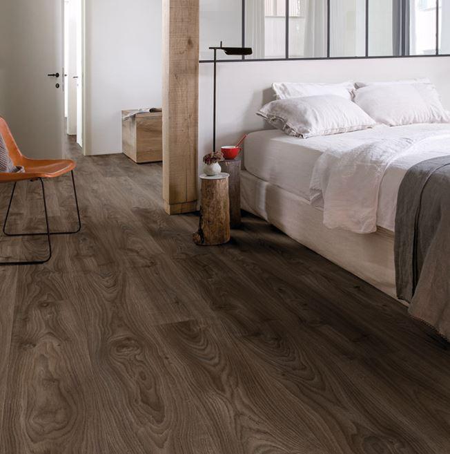 Quickstep Livyn Balance Cottage Oak Dark Brown Vinyl Flooring