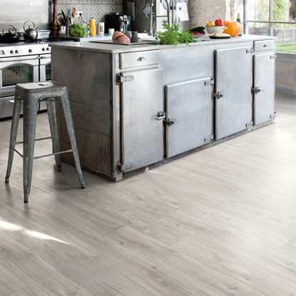 Quickstep Livyn Rigid Canyon Oak Grey Vinyl Flooring