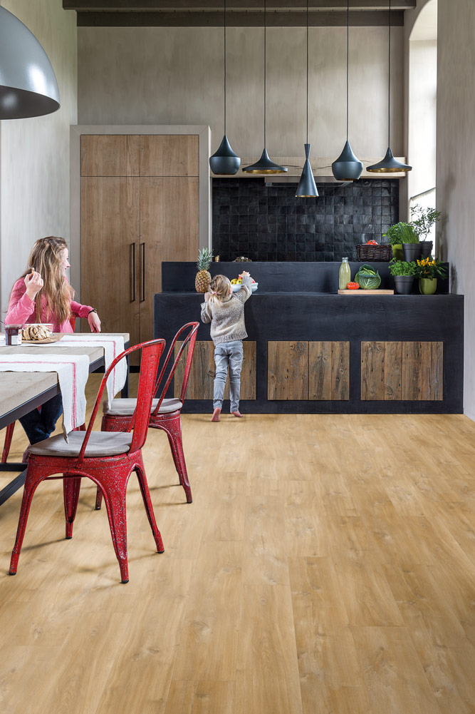 Quickstep livyn balance canyon oak natural - Tarima de roble ...