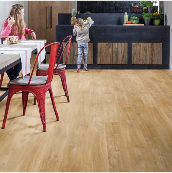 Quickstep livyn balance plus canyon oak natural bacp40039 vinyl flooring - Quick step livyn prix ...