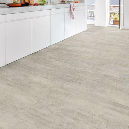 Quickstep Livyn Ambient Light Grey Travertine Vinyl Flooring