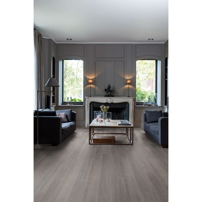 Quickstep Livyn Balance Silk Oak Dark Grey BACL40060 Vinyl Flooring