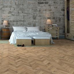 European Solid Oak Rustic Invisible Oil Parquet Flooring