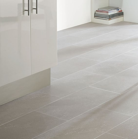 Grey Kitchen Floor Tiles Uk: Polyflor Colonia Balmoral Grey Slate 4534 Vinyl Flooring