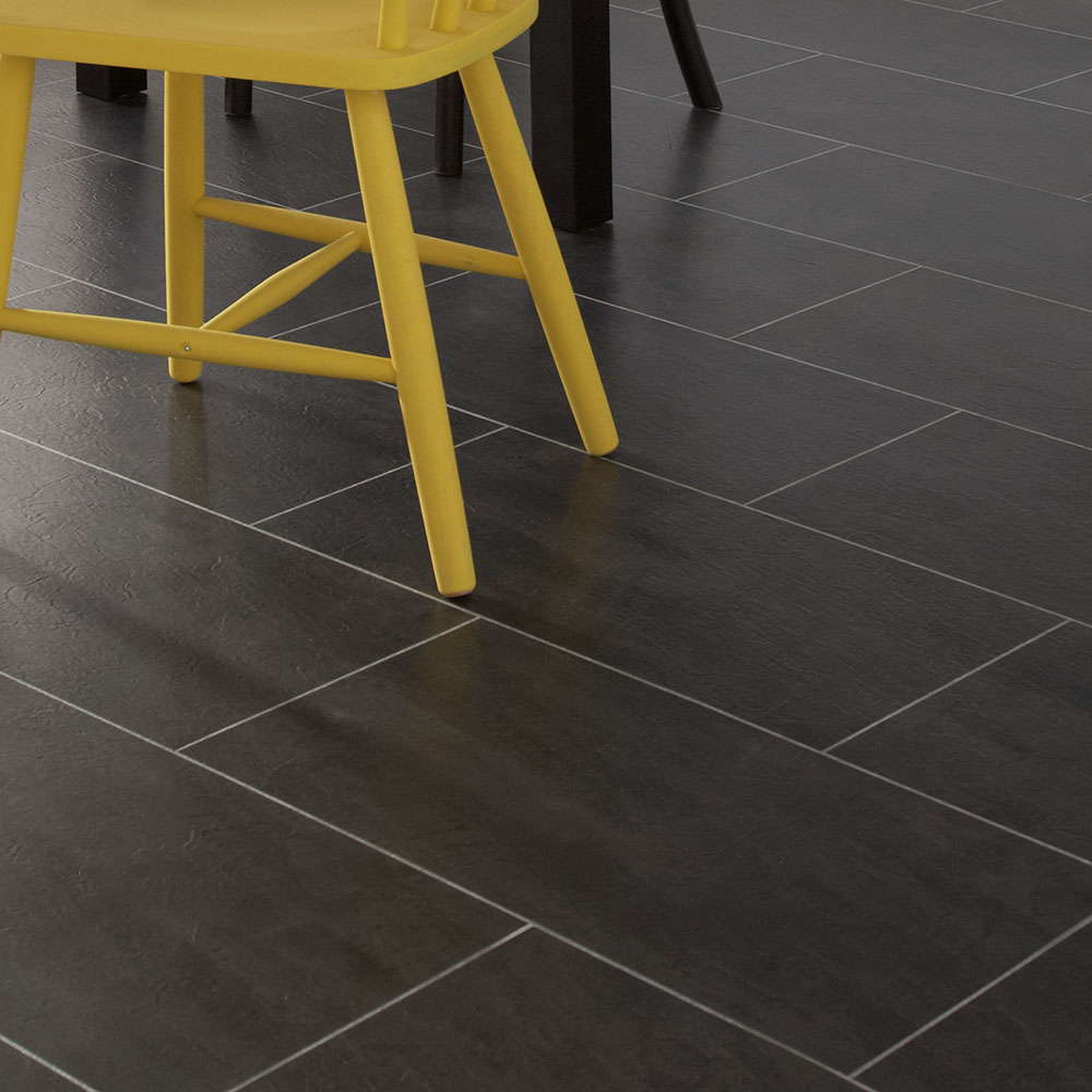 polyflor colonia welsh raven slate 4535 vinyl flooring. Black Bedroom Furniture Sets. Home Design Ideas