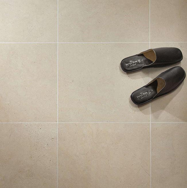 Polyflor Colonia Natural Limestone 4536 Vinyl Flooring