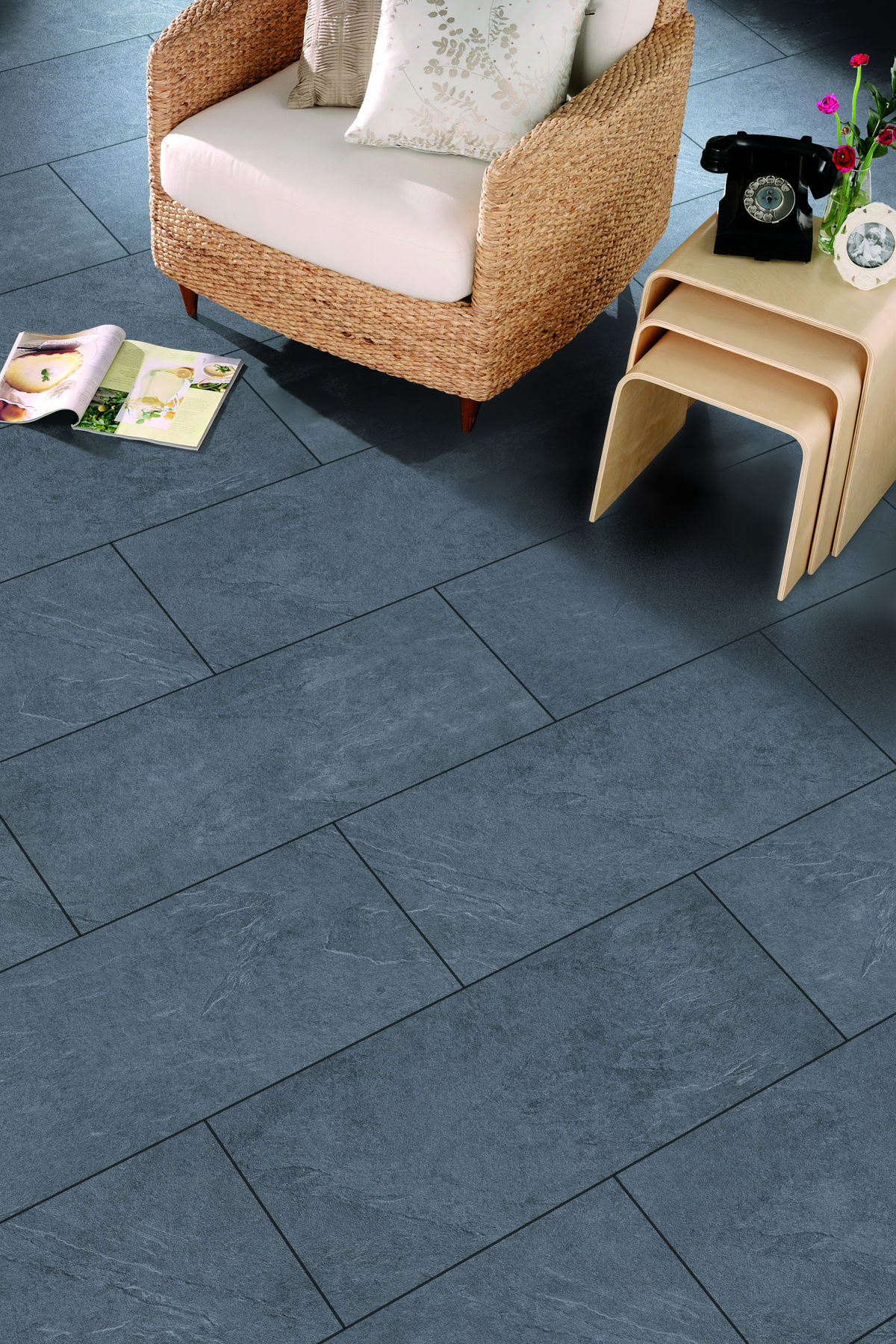 Slate Laminate Flooring Kitchen Laminate Flooring Tile