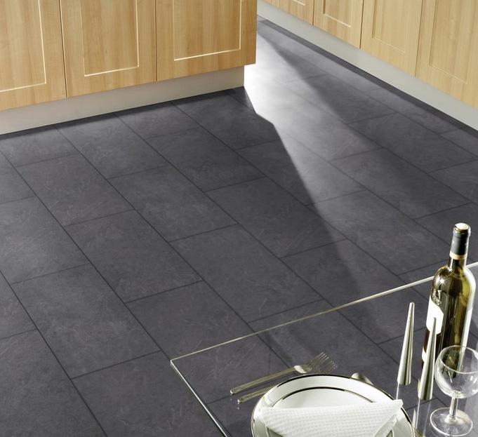 Slate Laminate Flooring : Kronospan stone impression mustang slate laminate flooring