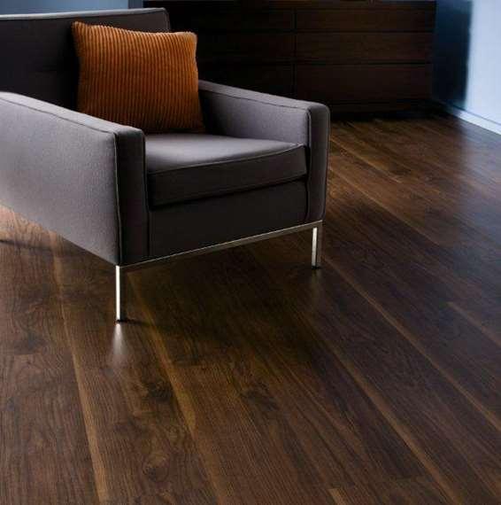 Kronospan kronofix 7mm virginia walnut laminate flooring for Laminate flooring offers