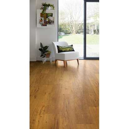 Polyflor EnCore Rigid Loc Log Cabin Oak 9029 Vinyl Flooring