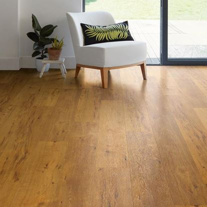 Polyflor EnCore Rigid Loc Log Cabin Oak 9029 Vinyl Flooring