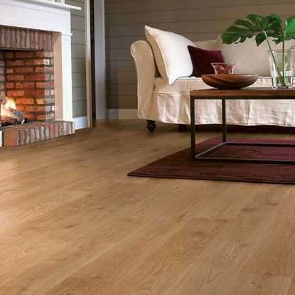 Kronospan Vario Plus Light Varnished Oak Laminate Flooring
