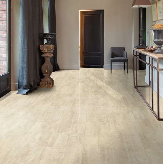 Quickstep Livyn Ambient Cream Travertine Amcl40046 Vinyl