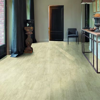 Quickstep Livyn Ambient Cream Travertine Vinyl Flooring
