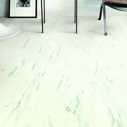 Quickstep Livyn Ambient Marble Carrara Vinyl Flooring