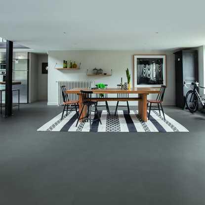 Quickstep Livyn Ambient Minimal Medium Grey Vinyl Flooring