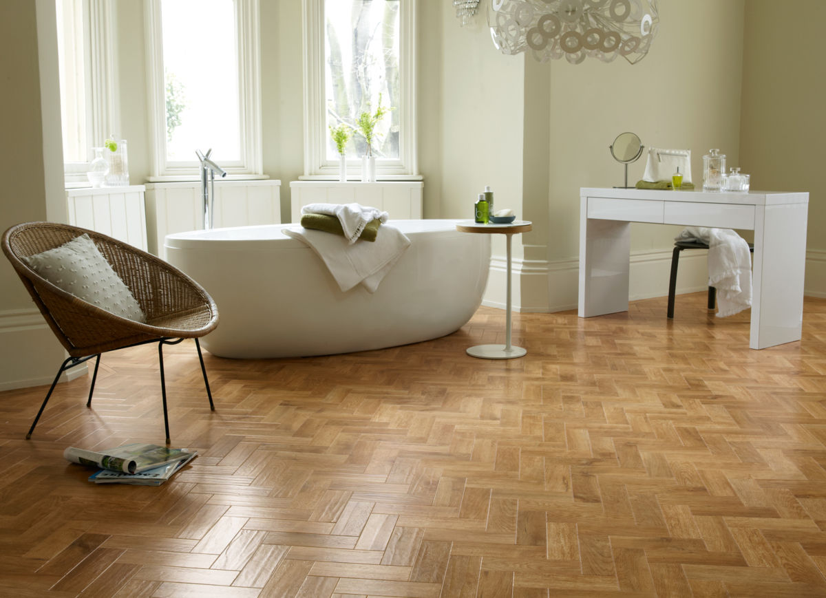 Karndean art select blond oak parquet ap01 vinyl flooring