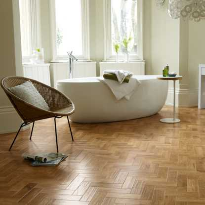 Karndean Art Select Blond Oak Herringbone AP01 Vinyl Flooring