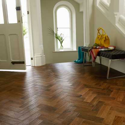 Karndean Art Select Auburn Oak Herringbone AP02 Vinyl Flooring