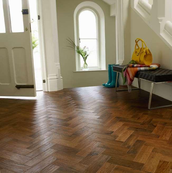 Karndean Art Select Auburn Oak Parquet Ap02 Vinyl Flooring