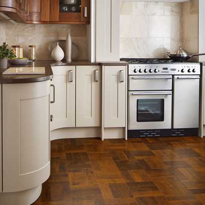 Karndean Art Select Spanish Cherry Herringbone AP05 Vinyl Flooring