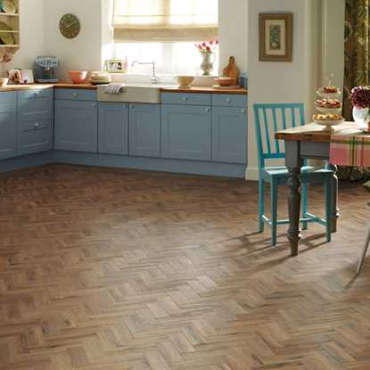 Karndean Art Select Morning Oak Herringbone AP06 Vinyl Flooring