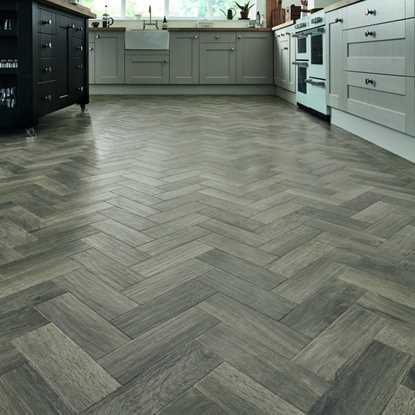 Karndean Art Select Storm Oak Herringbone AP07 Vinyl Flooring