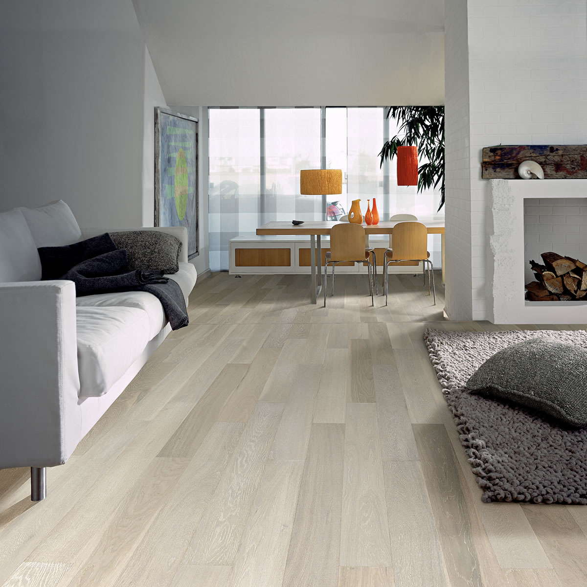 Kahrs Oak Arctic Engineered Wood Flooring