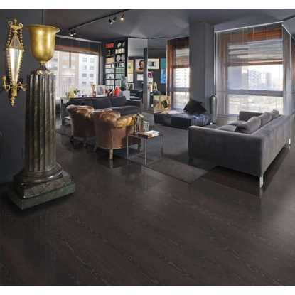 Kahrs Ash Black Copper Engineered Wood Flooring