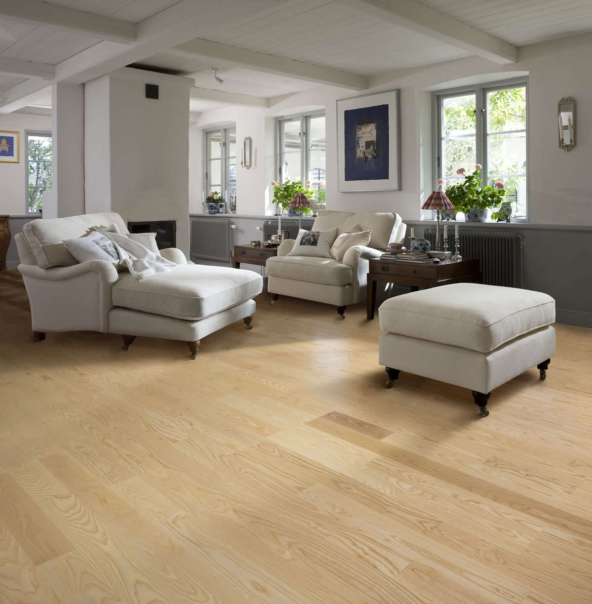 Kahrs ash gothenburg engineered wood flooring for Kahrs flooring