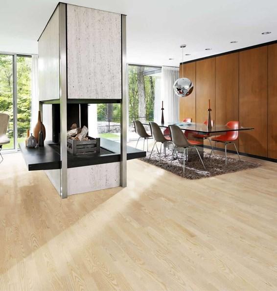 Kahrs Ash Mariehamn Engineered Wood Flooring