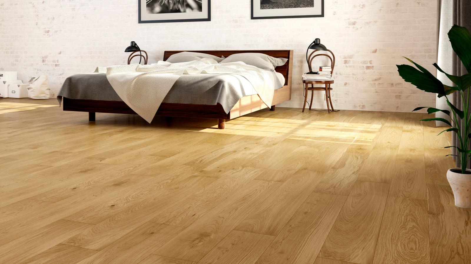 Natura oak ballymore for Floating engineered wood flooring
