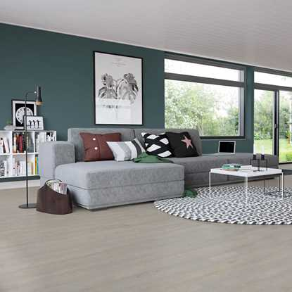 Junckers 14mm Beech Oyster Grey Harmony Solid Wood Flooring