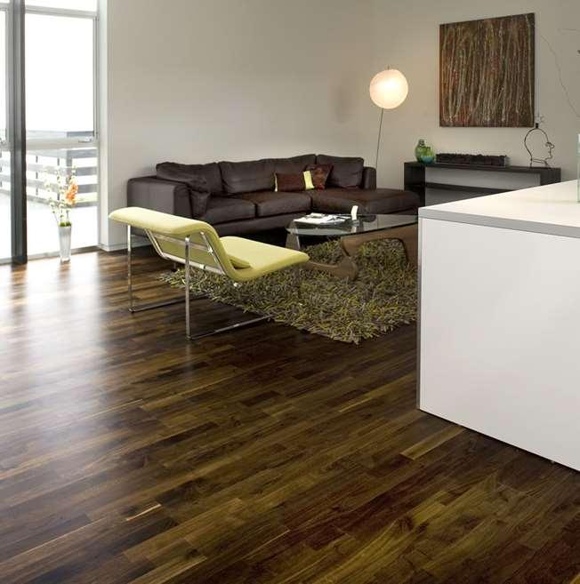 Junckers 14mm Black Oak Harmony Solid Wood Flooring