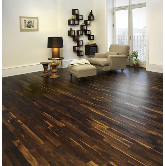 Junckers 22mm Black Oak Variation Solid Wood Flooring