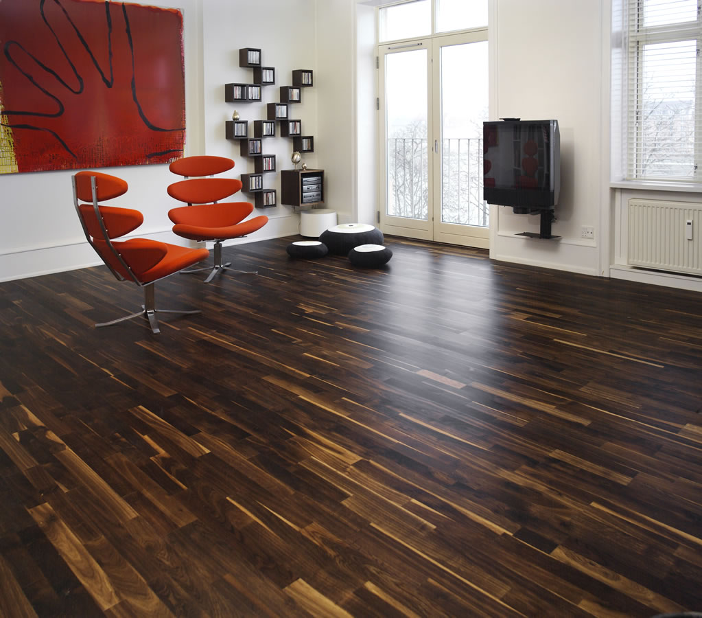 Junckers mm black oak variation solid wood flooring